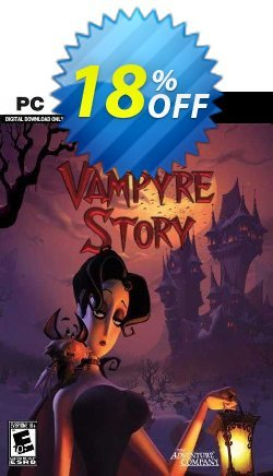 A Vampyre Story PC Coupon discount A Vampyre Story PC Deal - A Vampyre Story PC Exclusive offer for iVoicesoft