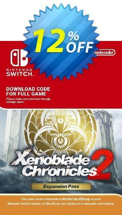 Xenoblade Chronicles 2: Expansion Pass Switch Coupon discount Xenoblade Chronicles 2: Expansion Pass Switch Deal - Xenoblade Chronicles 2: Expansion Pass Switch Exclusive offer for iVoicesoft