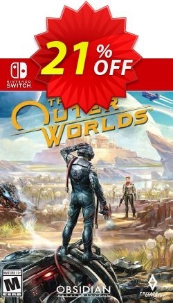 The Outer Worlds Switch Coupon discount The Outer Worlds Switch Deal - The Outer Worlds Switch Exclusive offer for iVoicesoft