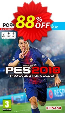 Pro Evolution Soccer - PES 2018 - Premium Edition PC Coupon discount Pro Evolution Soccer (PES) 2018 - Premium Edition PC Deal - Pro Evolution Soccer (PES) 2018 - Premium Edition PC Exclusive Easter Sale offer for iVoicesoft