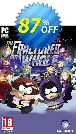 South Park: The Fractured But Whole PC Coupon discount South Park: The Fractured But Whole PC Deal - South Park: The Fractured But Whole PC Exclusive Easter Sale offer for iVoicesoft