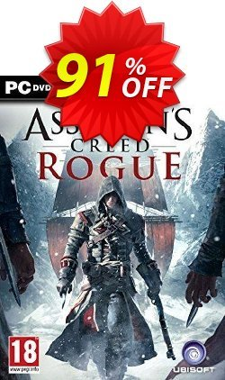 Assassin's Creed Rogue PC Coupon discount Assassin's Creed Rogue PC Deal - Assassin's Creed Rogue PC Exclusive Easter Sale offer for iVoicesoft