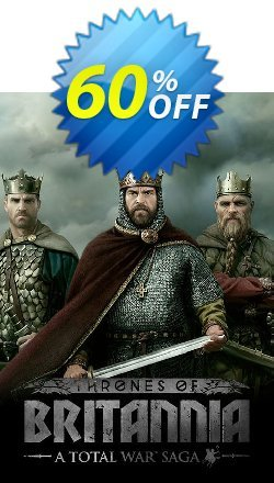 Total War Saga: Thrones of Britannia PC Coupon discount Total War Saga: Thrones of Britannia PC Deal - Total War Saga: Thrones of Britannia PC Exclusive Easter Sale offer for iVoicesoft