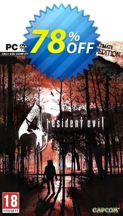Resident Evil 4 Ultimate HD Edition PC Coupon discount Resident Evil 4 Ultimate HD Edition PC Deal - Resident Evil 4 Ultimate HD Edition PC Exclusive Easter Sale offer for iVoicesoft