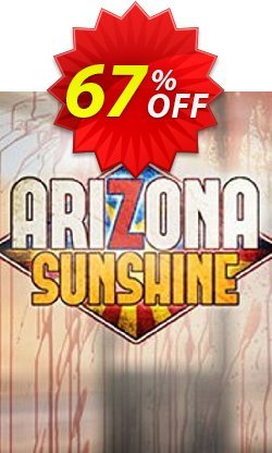 Arizona Sunshine VR PC Coupon discount Arizona Sunshine VR PC Deal. Promotion: Arizona Sunshine VR PC Exclusive offer for iVoicesoft