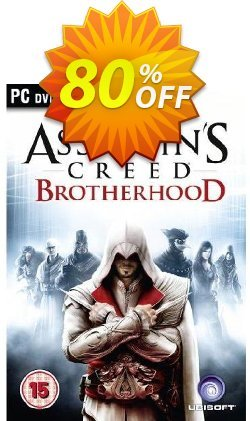 Assassin's Creed Brotherhood - PC  Coupon discount Assassin's Creed Brotherhood (PC) Deal - Assassin's Creed Brotherhood (PC) Exclusive Easter Sale offer for iVoicesoft