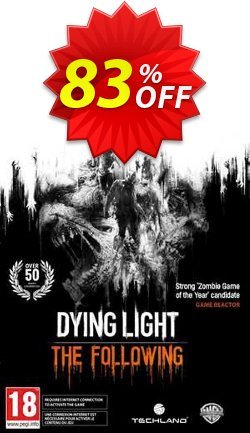 Dying Light: The Following Expansion Pack PC Coupon discount Dying Light: The Following Expansion Pack PC Deal - Dying Light: The Following Expansion Pack PC Exclusive Easter Sale offer for iVoicesoft