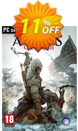 Assassin's Creed 3 - PC  Coupon discount Assassin's Creed 3 (PC) Deal - Assassin's Creed 3 (PC) Exclusive Easter Sale offer for iVoicesoft