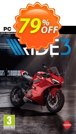 Ride 3 PC Coupon discount Ride 3 PC Deal - Ride 3 PC Exclusive Easter Sale offer for iVoicesoft