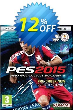 PES 2015 PC Coupon discount PES 2015 PC Deal. Promotion: PES 2015 PC Exclusive Easter Sale offer for iVoicesoft