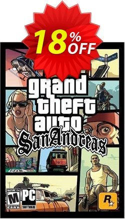 Grand Theft Auto - San Andreas Download - PC  Coupon discount Grand Theft Auto - San Andreas Download (PC) Deal. Promotion: Grand Theft Auto - San Andreas Download (PC) Exclusive Easter Sale offer for iVoicesoft
