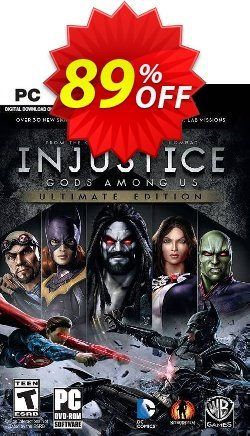 Injustice Gods Among Us - Ultimate Edition PC Coupon discount Injustice Gods Among Us - Ultimate Edition PC Deal - Injustice Gods Among Us - Ultimate Edition PC Exclusive Easter Sale offer for iVoicesoft