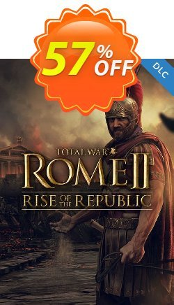 Total War ROME II 2 PC - Rise of the Republic DLC Coupon discount Total War ROME II 2 PC - Rise of the Republic DLC Deal - Total War ROME II 2 PC - Rise of the Republic DLC Exclusive Easter Sale offer for iVoicesoft