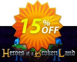 Heroes of a Broken Land PC Coupon discount Heroes of a Broken Land PC Deal. Promotion: Heroes of a Broken Land PC Exclusive Easter Sale offer for iVoicesoft