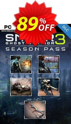 Sniper Ghost Warrior 3 - Season Pass PC Coupon discount Sniper Ghost Warrior 3 - Season Pass PC Deal. Promotion: Sniper Ghost Warrior 3 - Season Pass PC Exclusive Easter Sale offer for iVoicesoft