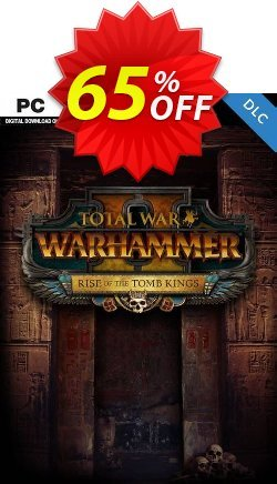 Total War Warhammer II 2 PC - Rise of the Tomb Kings DLC - WW  Coupon discount Total War Warhammer II 2 PC - Rise of the Tomb Kings DLC (WW) Deal - Total War Warhammer II 2 PC - Rise of the Tomb Kings DLC (WW) Exclusive Easter Sale offer for iVoicesoft