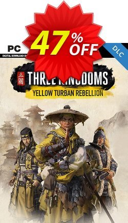 Total War Three Kingdoms PC - The Yellow Turban Rebellion DLC Coupon discount Total War Three Kingdoms PC - The Yellow Turban Rebellion DLC Deal - Total War Three Kingdoms PC - The Yellow Turban Rebellion DLC Exclusive Easter Sale offer for iVoicesoft