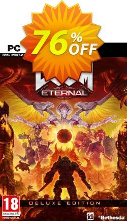 DOOM Eternal - Deluxe Edition PC - WW + DLC Coupon discount DOOM Eternal - Deluxe Edition PC (WW) + DLC Deal - DOOM Eternal - Deluxe Edition PC (WW) + DLC Exclusive Easter Sale offer for iVoicesoft