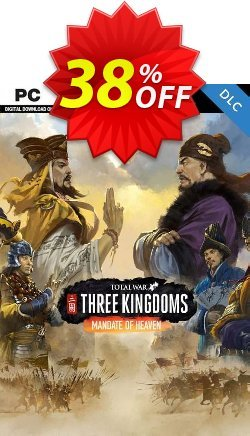 Total War Three Kingdoms PC - Mandate of Heaven DLC Coupon discount Total War Three Kingdoms PC - Mandate of Heaven DLC Deal - Total War Three Kingdoms PC - Mandate of Heaven DLC Exclusive Easter Sale offer for iVoicesoft