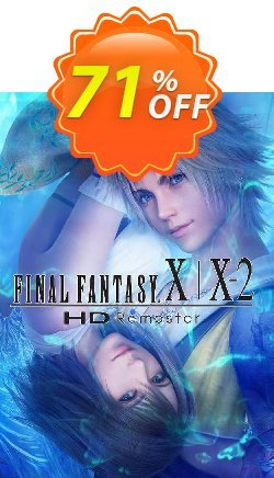 Final Fantasy X/X-2 HD Remaster PC Coupon discount Final Fantasy X/X-2 HD Remaster PC Deal - Final Fantasy X/X-2 HD Remaster PC Exclusive Easter Sale offer for iVoicesoft