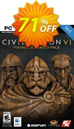 Sid Meier's Civilization VI: Vikings Scenario Pack PC - WW  Coupon discount Sid Meier's Civilization VI: Vikings Scenario Pack PC (WW) Deal - Sid Meier's Civilization VI: Vikings Scenario Pack PC (WW) Exclusive Easter Sale offer for iVoicesoft
