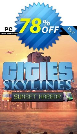 Cities: Skylines - Sunset Harbor PC Coupon discount Cities: Skylines - Sunset Harbor PC Deal - Cities: Skylines - Sunset Harbor PC Exclusive Easter Sale offer for iVoicesoft