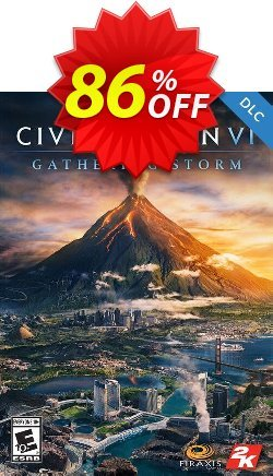 Sid Meiers Civilization VI 6 PC Gathering Storm DLC - Global  Coupon discount Sid Meiers Civilization VI 6 PC Gathering Storm DLC (Global) Deal - Sid Meiers Civilization VI 6 PC Gathering Storm DLC (Global) Exclusive Easter Sale offer for iVoicesoft