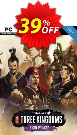 Total War: THREE KINGDOMS PC - Eight Princes DLC - EU  Coupon discount Total War: THREE KINGDOMS PC - Eight Princes DLC (EU) Deal - Total War: THREE KINGDOMS PC - Eight Princes DLC (EU) Exclusive Easter Sale offer for iVoicesoft
