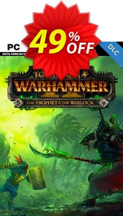 Total War: Warhammer II 2 - The Prophet & The Warlock DLC PC - EU  Coupon discount Total War: Warhammer II 2 - The Prophet & The Warlock DLC PC (EU) Deal - Total War: Warhammer II 2 - The Prophet & The Warlock DLC PC (EU) Exclusive Easter Sale offer for iVoicesoft