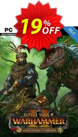 Total War: WARHAMMER II 2 PC - The Hunter & The Beast DLC - EU  Coupon discount Total War: WARHAMMER II 2 PC - The Hunter & The Beast DLC (EU) Deal - Total War: WARHAMMER II 2 PC - The Hunter & The Beast DLC (EU) Exclusive Easter Sale offer for iVoicesoft