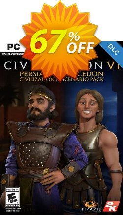 Sid Meier's Civilization VI: Persia and Macedon Civilization and Scenario Pack PC - WW  Coupon discount Sid Meier's Civilization VI: Persia and Macedon Civilization and Scenario Pack PC (WW) Deal - Sid Meier's Civilization VI: Persia and Macedon Civilization and Scenario Pack PC (WW) Exclusive Easter Sale offer for iVoicesoft