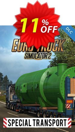 Euro Truck Simulator 2 - Special Transport DLC PC Coupon discount Euro Truck Simulator 2 - Special Transport DLC PC Deal - Euro Truck Simulator 2 - Special Transport DLC PC Exclusive Easter Sale offer for iVoicesoft