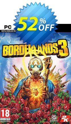 Borderlands 3 PC - Steam  Coupon discount Borderlands 3 PC (Steam) Deal - Borderlands 3 PC (Steam) Exclusive Easter Sale offer for iVoicesoft