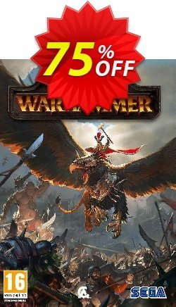 Total War: Warhammer PC - WW  Coupon discount Total War: Warhammer PC (WW) Deal - Total War: Warhammer PC (WW) Exclusive Easter Sale offer for iVoicesoft