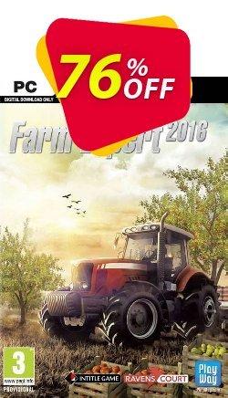 Farm Expert 2016 PC Coupon discount Farm Expert 2016 PC Deal. Promotion: Farm Expert 2016 PC Exclusive Easter Sale offer for iVoicesoft