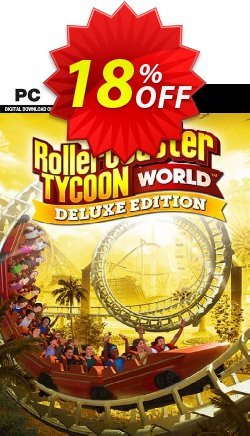 RollerCoaster Tycoon World - Deluxe Edition PC Coupon discount RollerCoaster Tycoon World - Deluxe Edition PC Deal - RollerCoaster Tycoon World - Deluxe Edition PC Exclusive Easter Sale offer for iVoicesoft