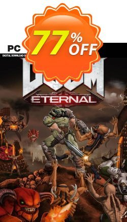 DOOM Eternal PC - WW + DLC Coupon discount DOOM Eternal PC (WW) + DLC Deal - DOOM Eternal PC (WW) + DLC Exclusive Easter Sale offer for iVoicesoft