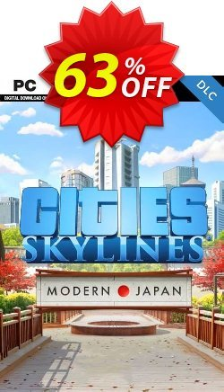 Cities: Skylines - Content Creator Pack Modern Japan PC Coupon discount Cities: Skylines - Content Creator Pack Modern Japan PC Deal - Cities: Skylines - Content Creator Pack Modern Japan PC Exclusive Easter Sale offer for iVoicesoft