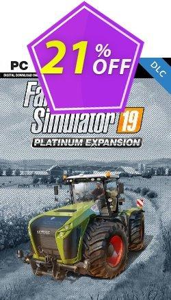 Farming Simulator 19 PC - Platinum Expansion DLC Coupon discount Farming Simulator 19 PC - Platinum Expansion DLC Deal - Farming Simulator 19 PC - Platinum Expansion DLC Exclusive Easter Sale offer for iVoicesoft