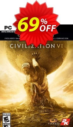 Sid Meiers Civilization VI 6 Gold Edition PC Coupon discount Sid Meiers Civilization VI 6 Gold Edition PC Deal - Sid Meiers Civilization VI 6 Gold Edition PC Exclusive Easter Sale offer for iVoicesoft