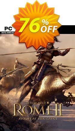Total War Rome II: Enemy At the Gates Edition PC Coupon discount Total War Rome II: Enemy At the Gates Edition PC Deal - Total War Rome II: Enemy At the Gates Edition PC Exclusive Easter Sale offer for iVoicesoft
