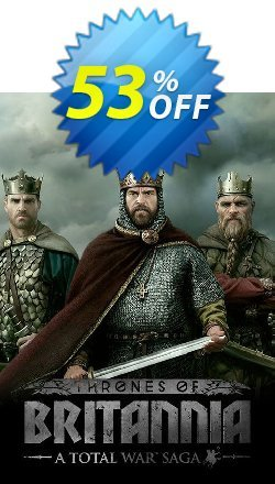 Total War Saga: Thrones of Britannia PC - WW  Coupon discount Total War Saga: Thrones of Britannia PC (WW) Deal - Total War Saga: Thrones of Britannia PC (WW) Exclusive Easter Sale offer for iVoicesoft