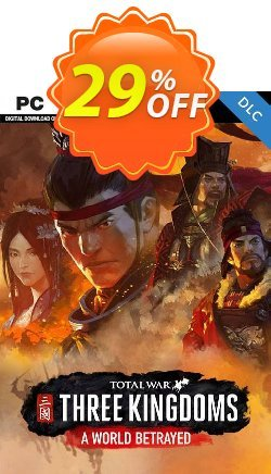 Total War: Three Kingdoms - A World Betrayed PC Coupon discount Total War: Three Kingdoms - A World Betrayed PC Deal - Total War: Three Kingdoms - A World Betrayed PC Exclusive Easter Sale offer for iVoicesoft