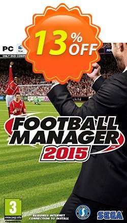 Football Manager 2015 PC/Mac Coupon discount Football Manager 2015 PC/Mac Deal - Football Manager 2015 PC/Mac Exclusive offer for iVoicesoft