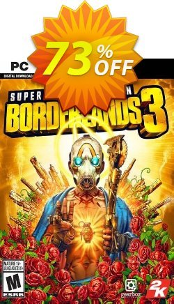 Borderlands 3 - Super Deluxe Edition PC - Steam  Coupon discount Borderlands 3 - Super Deluxe Edition PC (Steam) Deal - Borderlands 3 - Super Deluxe Edition PC (Steam) Exclusive Easter Sale offer for iVoicesoft