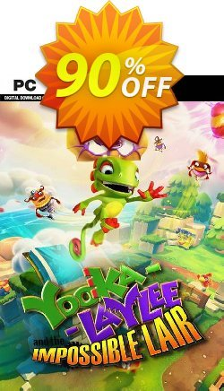 Yooka-Laylee and the Impossible Lair PC Coupon discount Yooka-Laylee and the Impossible Lair PC Deal - Yooka-Laylee and the Impossible Lair PC Exclusive Easter Sale offer for iVoicesoft