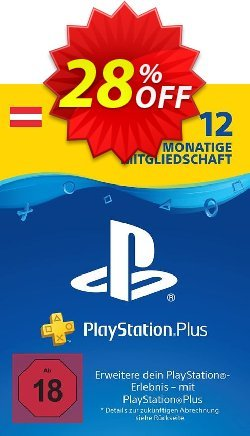 PlayStation Plus - PS+ - 12 Month Subscription - Austria  Coupon discount PlayStation Plus (PS+) - 12 Month Subscription (Austria) Deal - PlayStation Plus (PS+) - 12 Month Subscription (Austria) Exclusive Easter Sale offer for iVoicesoft