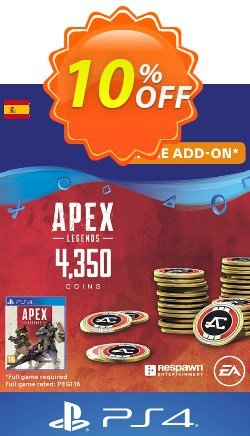 Apex Legends 4350 Coins PS4 - Spain  Coupon discount Apex Legends 4350 Coins PS4 (Spain) Deal - Apex Legends 4350 Coins PS4 (Spain) Exclusive Easter Sale offer for iVoicesoft