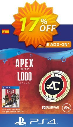 Apex Legends 1000 Coins PS4 - Spain  Coupon discount Apex Legends 1000 Coins PS4 (Spain) Deal - Apex Legends 1000 Coins PS4 (Spain) Exclusive Easter Sale offer for iVoicesoft