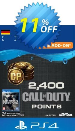Call of Duty Modern Warfare - 2400 Points PS4 - Germany  Coupon discount Call of Duty Modern Warfare - 2400 Points PS4 (Germany) Deal - Call of Duty Modern Warfare - 2400 Points PS4 (Germany) Exclusive Easter Sale offer for iVoicesoft